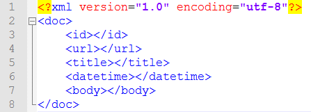 xml format