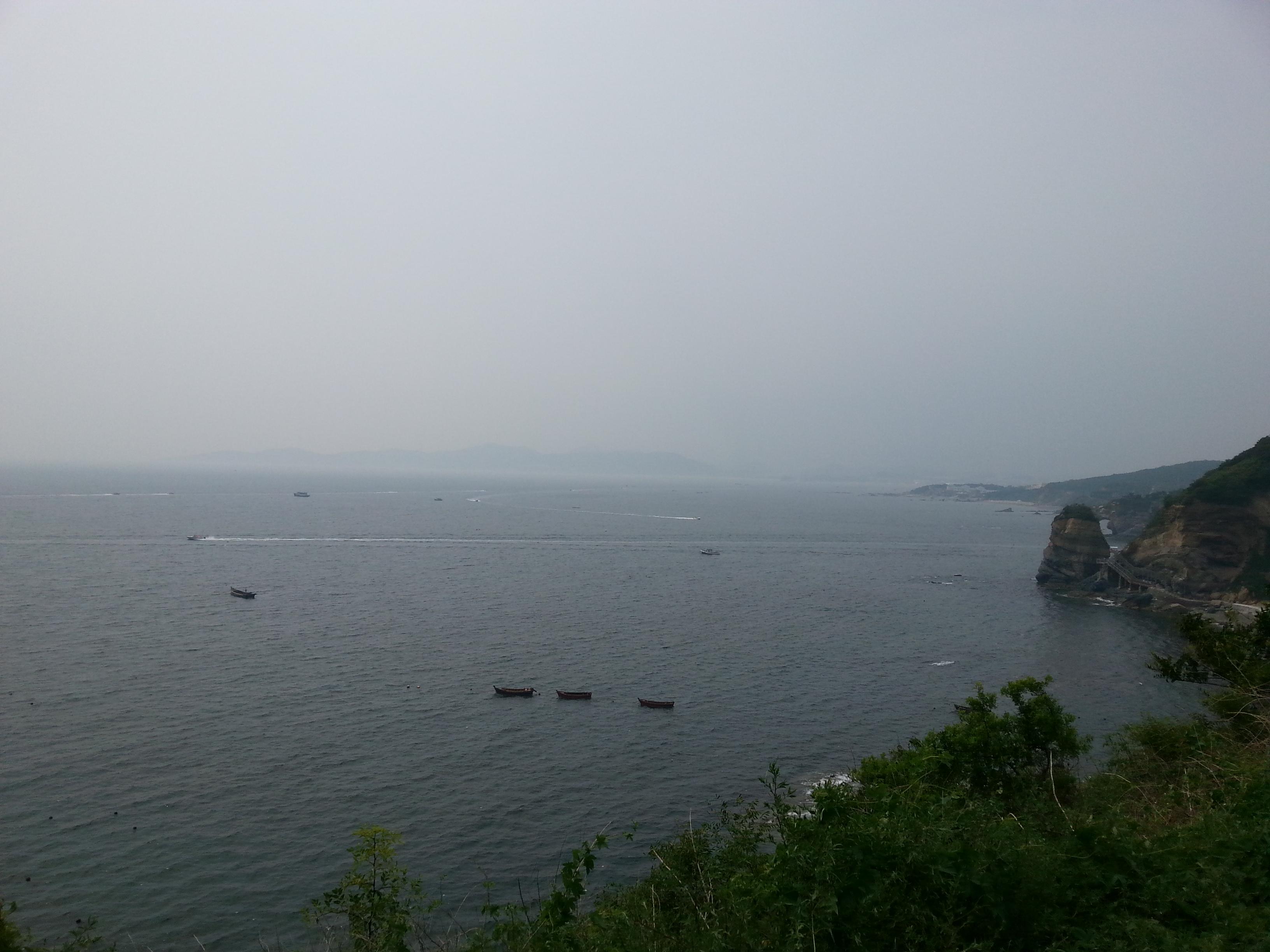 大连滨海国家地质公园